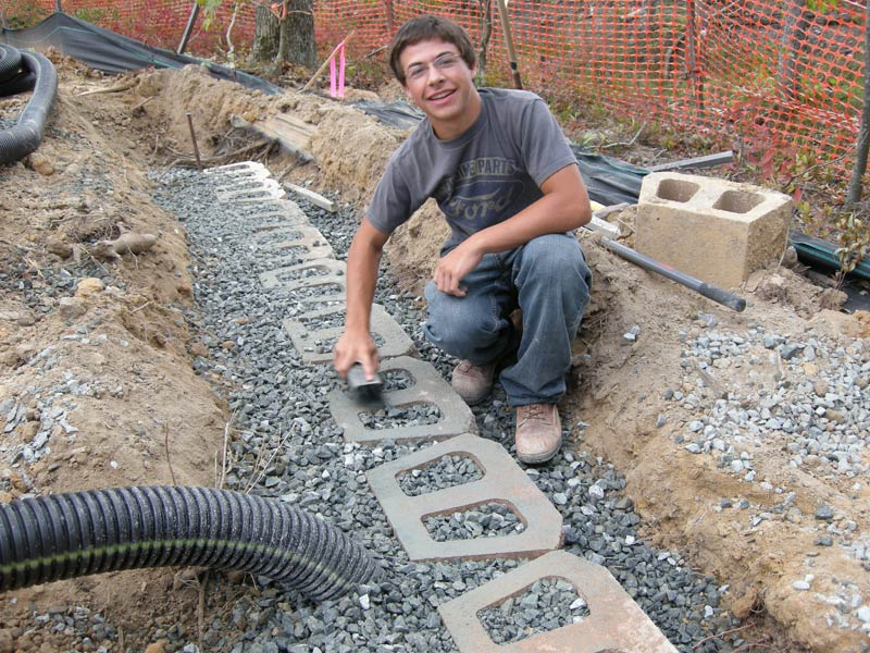 how to build foundation for retaining wall