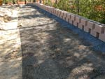Geogrid for retaining wall